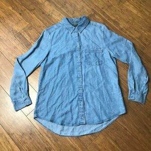 Eddie bauer Denim Button down shirt